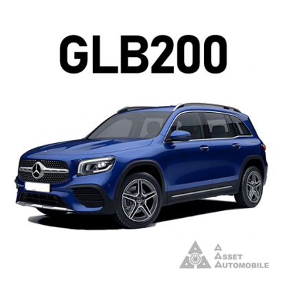 Mercedes Benz GLB200 7 seater at A Asset Automobile Singapore